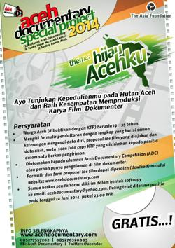 Aceh Documentary Special Project (ADSP) 2014